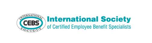 Logo for CEBS International Society of Certified Employee Benefit Specialists in employee benefits industry