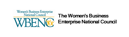 Logo for WBENC The Women's Business Enterprise National Councilin employee benefits industry
