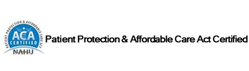 ACA Patient Protection and Affordable Care Act Certified in employee benefits industry.