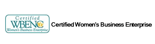 Logo for WBENC Certified Women's Business Enterprise in employee benefits industry