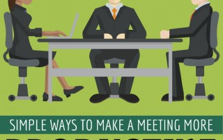 Simple Ways To Make Meetings More Productive